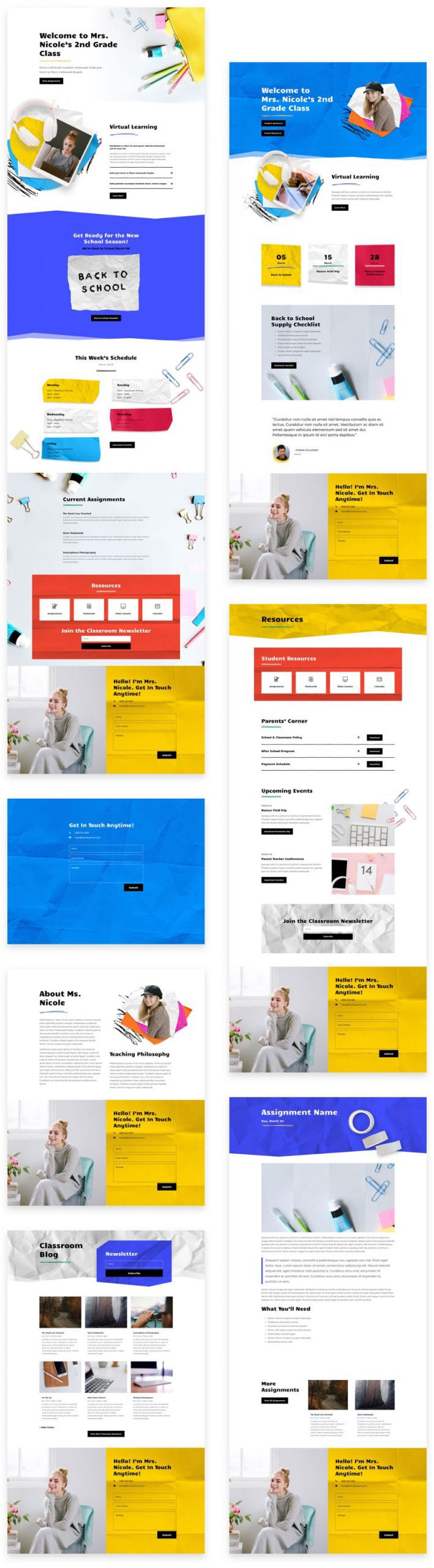 Classroom Layout Pack