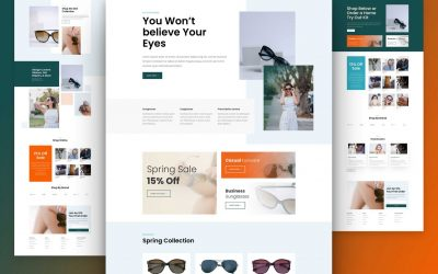 Sunglasses Shop Layout Pack